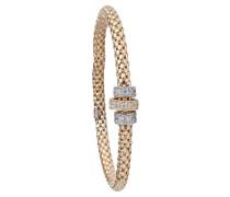 Armband Flex Silber vergoldet