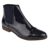 Chelsea-Boots, Leder, Lack-Optik