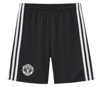 Manchester United Shorts Away Replica, 2017/18, klimaregulierend, für Kinder, Schwarz