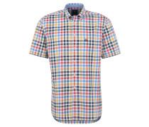 Freizeithemd, Kurzarm, Button-Down-Kragen, Grün