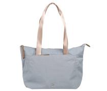 """Shopper """"Sunshine"""", Reißverschlusstasche, Blau"""