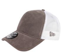 Trucker-Cap, Verlours-Optik, Mesh, für Damen