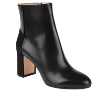 "Ankle Boots ""Eloen"", Leder, Blockabsatz, Schwarz"