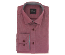 "Businesshemd ""Black Label"", Slim Fit, Kent-Kragen, Rot"