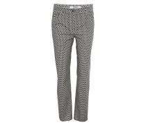 "Stoffhose ""Cora"", Comfort Fit, geometrisches Muster"