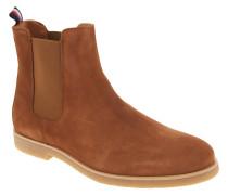 "Chelsea Boots ""W2285ILLIAM 2B"", Veloursleder, Braun"