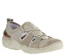 Sneaker, elastische Schnürsenkel, Lochmuster