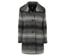 Jacke, Streifen-Muster, weiches Woll-Gemisch