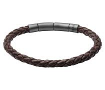Armband Vintage Casual, Leder, braun, JF02074001