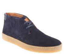 """Desert Boots """"L2285OGAN 2B"""", Veloursleder, breite Sohle, Blau"""