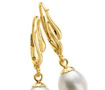 Ohrhänger mit Süßwasser-Zuchtperle Gold 585 8,0-8,5mm