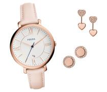 Uhren-Set Damenuhr mit Ohrstecker ES4202SET, 3-teilig