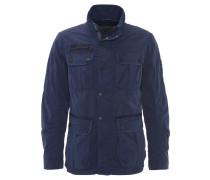 Jacke, viele Taschen, leicht, Blau