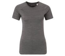 Laufshirt, Slim Fit, schnelltrocknend, für Damen, Grau