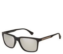 """Sonnenbrille """"EA 4047 5063/6G"""", mattes Design, verspiegelte Gläser"""