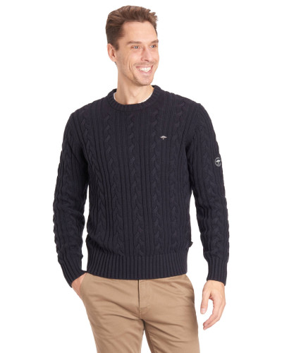 Pullover, Baumwolle, Zopfmuster