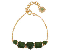 Armband 5 grüne Waldsteine AELD214/1
