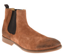 "Chelsea Boots ""Entwhistle"", Leder, Vintage-Look, Braun"