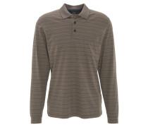 Poloshirt, Brusttasche, gestreift, pflegeleicht
