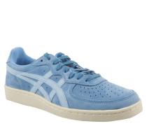"""Sneaker """"GSM"""", Veloursleder, Perforation, Gummisohle, Blau"""