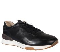 Sneaker, Rindsleder, Blau