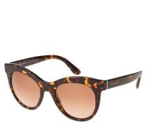 "Sonnenbrille ""DG 4311"", Havana-Stil, Cateye-Form"