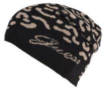 Mütze, gemustert, Beanie-Form