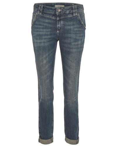 comma damen comma casual identity boyfriend jeans used waschung seitentaschen reduziert. Black Bedroom Furniture Sets. Home Design Ideas