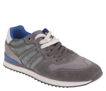 "Sneaker ""Eastman"", Retro-Look, Materialkombination, Grau"
