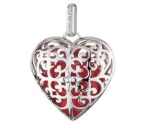 Anhänger Herz mit Klangherz rot ERP-05-HEART-L