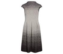 Jerseykleid, Stehkragen, mit Farbverlauf