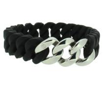 "Armband ""Mini"" 107720 Edelstahl schwarz silber"