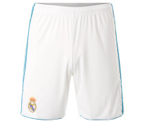 Real Madrid Shorts Home, 2017/2018, Weiß