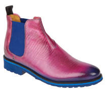 """Chelsea Boots """"Amelie 4"""", Reptil-Look, Pink"""