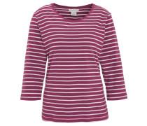 Shirt, gestreift, 3/4-Arm, Baumwoll-Mix
