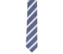 Krawatte, Streifenmuster, reine Seide
