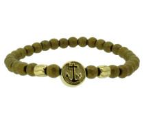 Anker Armband 107766 Edelstahl Hämatit gold vintage