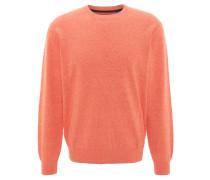Pullover, meliert, Rippbündchen, Rundhalsausschnitt, Baumwollmix
