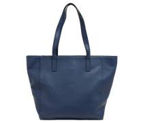 """Shopper """"Oxford"""", Kunstleder, unifarben, Blau"""