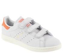 "Sneaker ""Stan Smith"", Veloursleder, Klettverschluss, farbige Akzente"