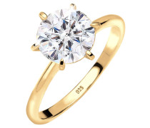 Ring 925 Sterling Silber Swarovski® Kristalle