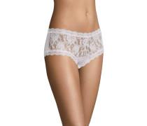 Pants, transparent, Spitzen-Design, Rosa