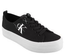 "Sneaker ""Zolah"", Canvas, Logo-Print, Plateausohle"