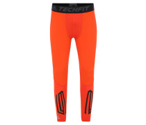 Leggins Techfit, Kontrast-Design, für Herren, Orange