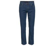Jeans, Casual Fit, Five Pocket, Blau
