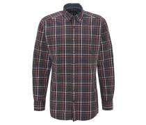 Hemd, kariert, Button-Down-Kragen, reine Baumwolle, Mehrfarbig