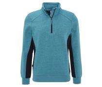 Sweatshirtjacke, Baumwolle, meliert, für Herren
