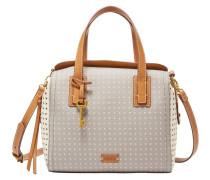 Handtaschen für Damen EMMA SATCHEL GREY/WHITE, Grau