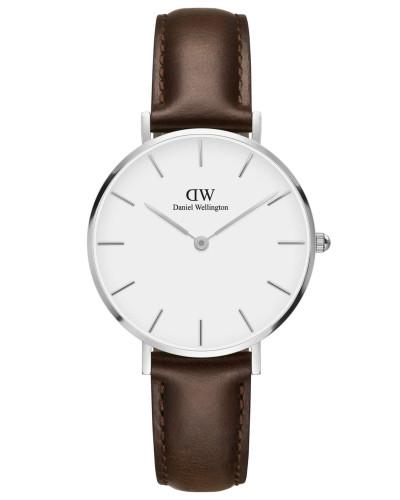 Classic Petite Armbanduhr Bristol, Silber
