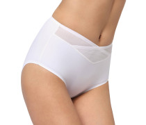 "Slip ""True Shape Sensation"", transparenter Einsatz, Weiß"